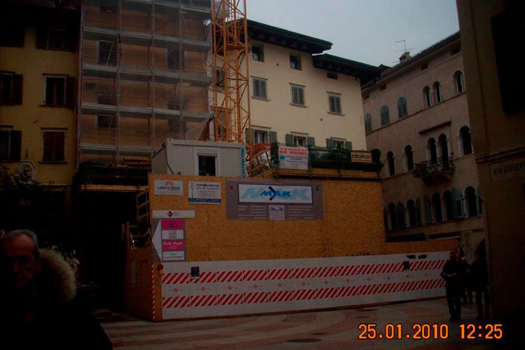 Edificio in Piazza Pasi - Trento