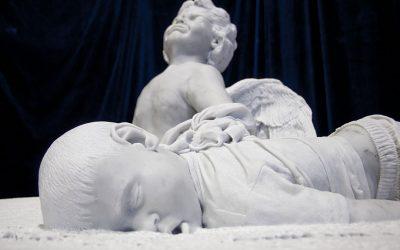 Presentata la statua dello scultore Prevedel