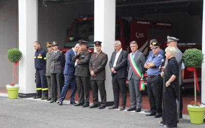 Inaugurata la Caserma VVFF volontari a Calavino