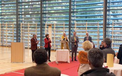 Inaugurazione palestra scuole Kaiserhof e Savoy a Merano