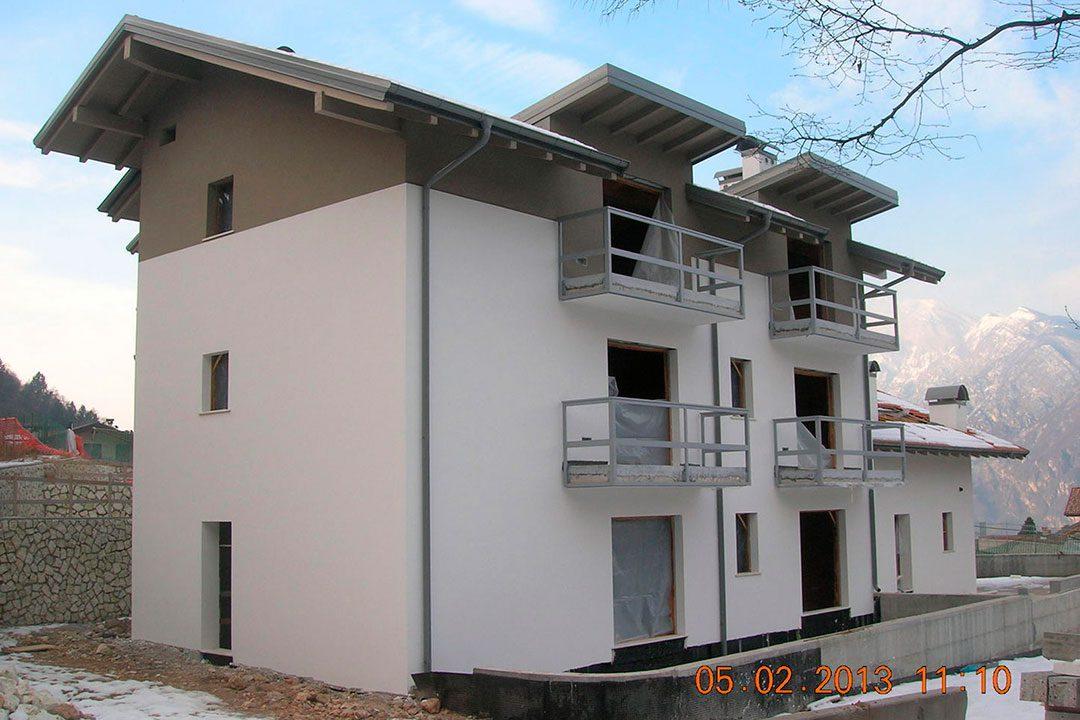 Edifici residenziali - Borino di Povo (TN)