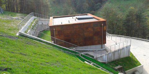 Opere edili per lo sfruttamento idroelettrico dell' acquedotto Intercomunale di Spormaggiore (TN)