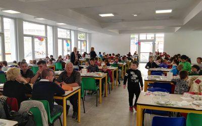 Inaugurata la nuova mensa scolastica a Pieve di Bono (TN)