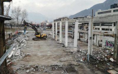 Iniziati i lavori di riqualificazione dell'area Ex Frizzera