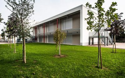 Taglio del nastro per la nuova scuola di Lugagnano a Sona (VR)